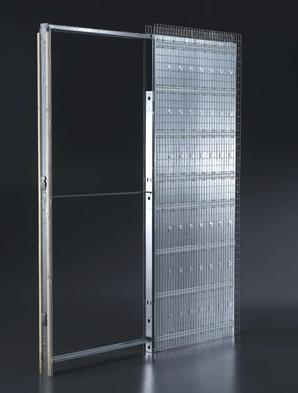 Cruz puertas y molduras s l estructura correderas armazon for Armazon puerta corredera